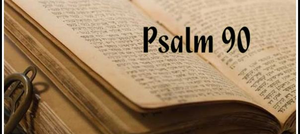 Psalm 90 3
