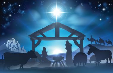 jesus birth nativity scene