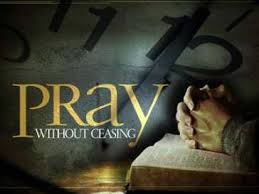 pray persistently